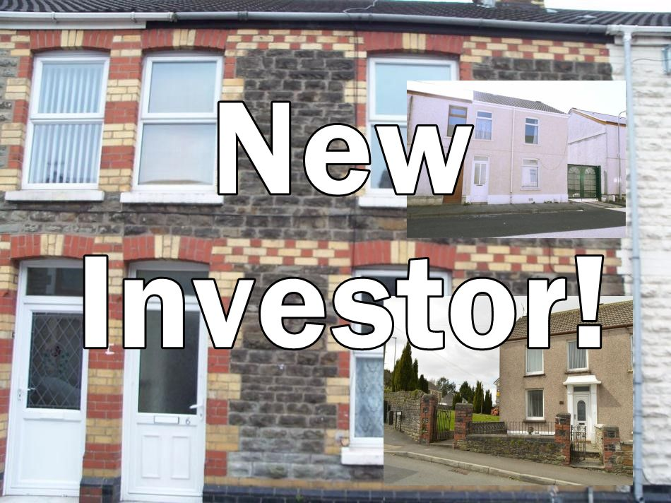 "words ""New Investor!"" over a picture of gwendoline st with 2 inset properties"