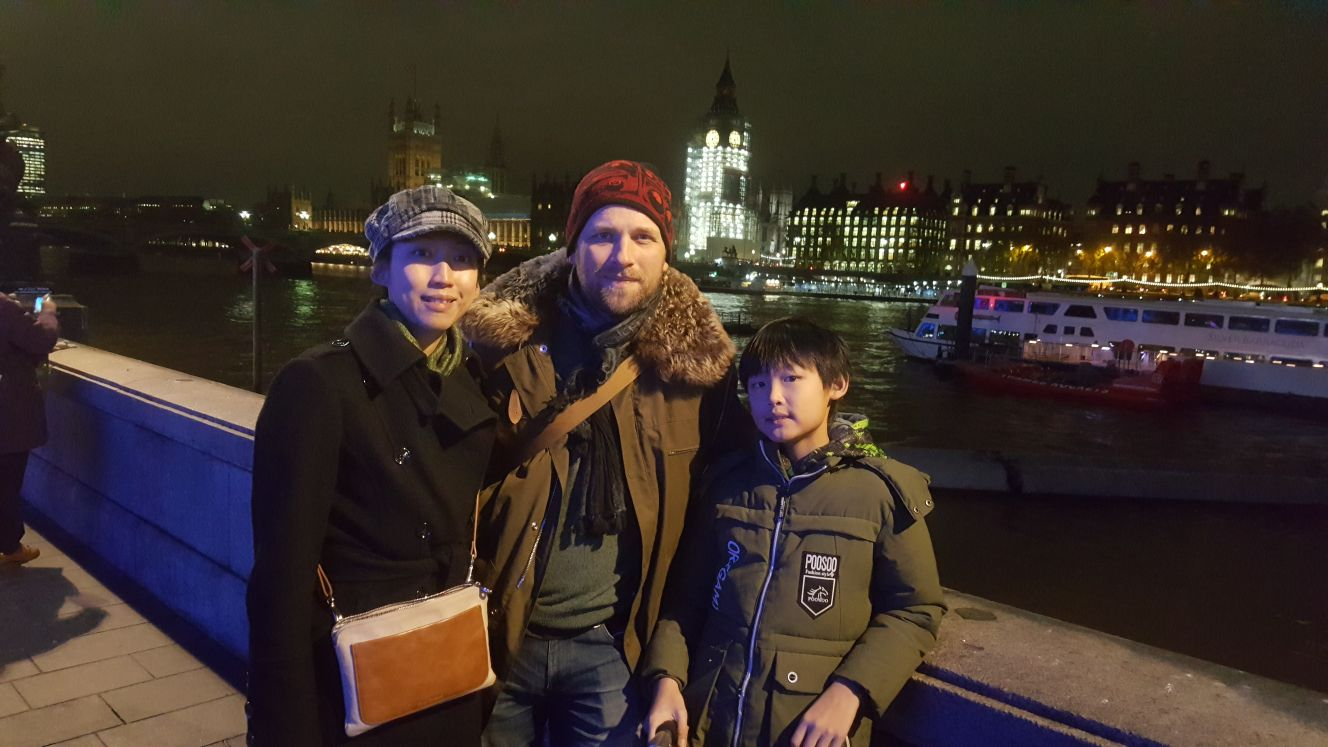 The Lam-Bie Family in London