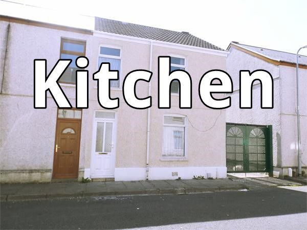 Blodwen Street property with Kitchen written on it